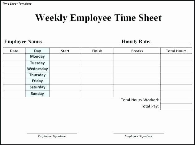 Sample Time Sheets to Print Inspirational Payroll Template Secure for Multiple Employees G Word Bi