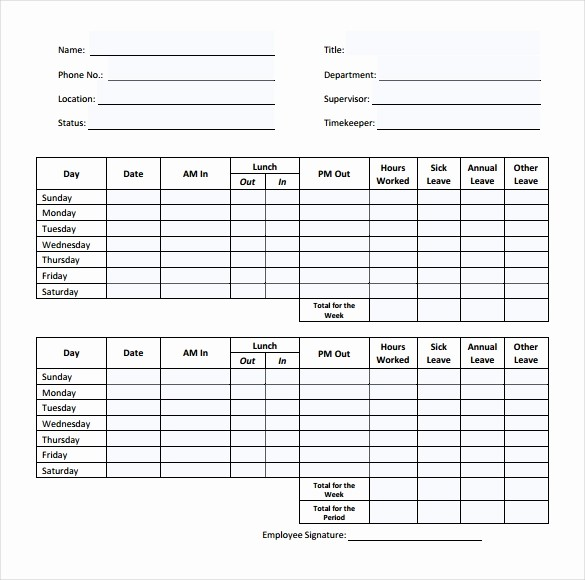 Sample Time Sheets to Print New 31 Simple Timesheet Templates Doc Pdf