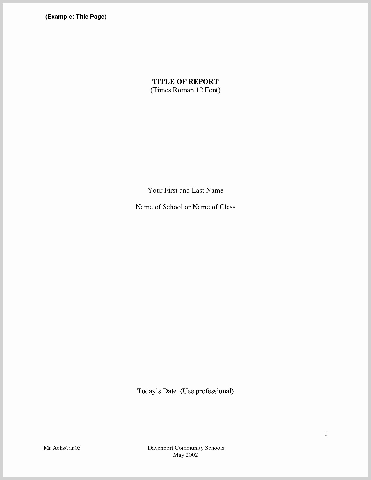 Sample Title Page Apa Style Awesome Research Paper Apa Style Title Page Title Page