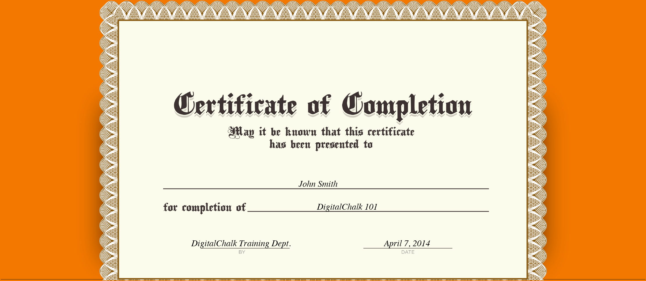 Sample Training Certificate Of Completion Luxury 5 Certificate Of Pletion Templates