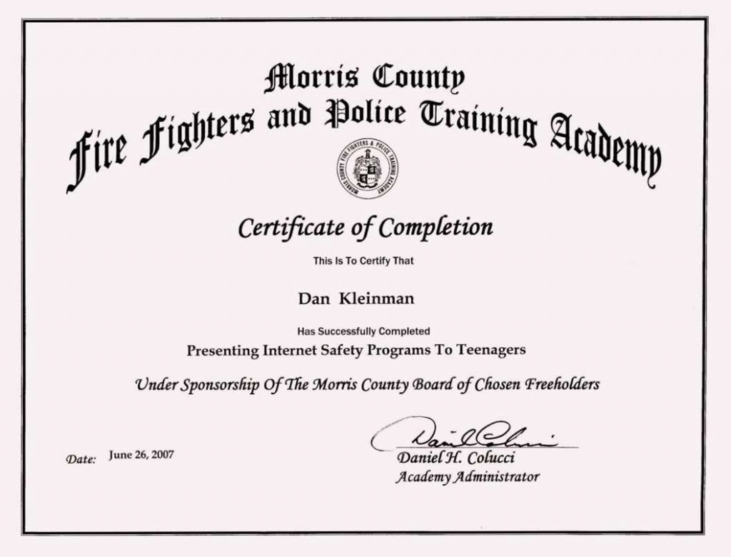 Sample Training Certificate Of Completion Luxury Pletion Certificate Template