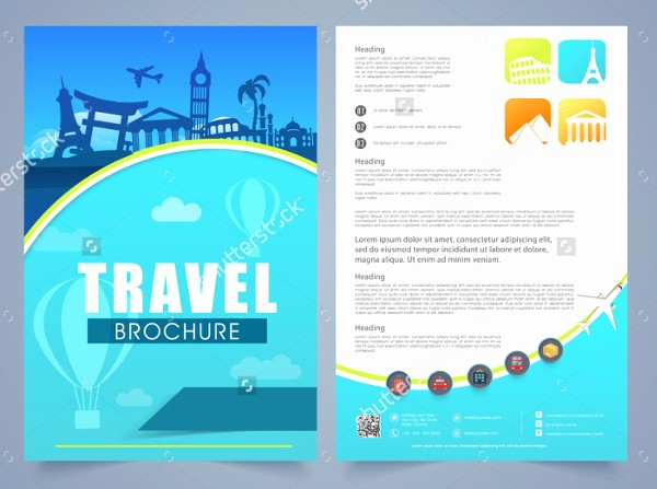 Sample Travel Brochure for Students Beautiful Travel Brochure Template for Students Csoforumfo