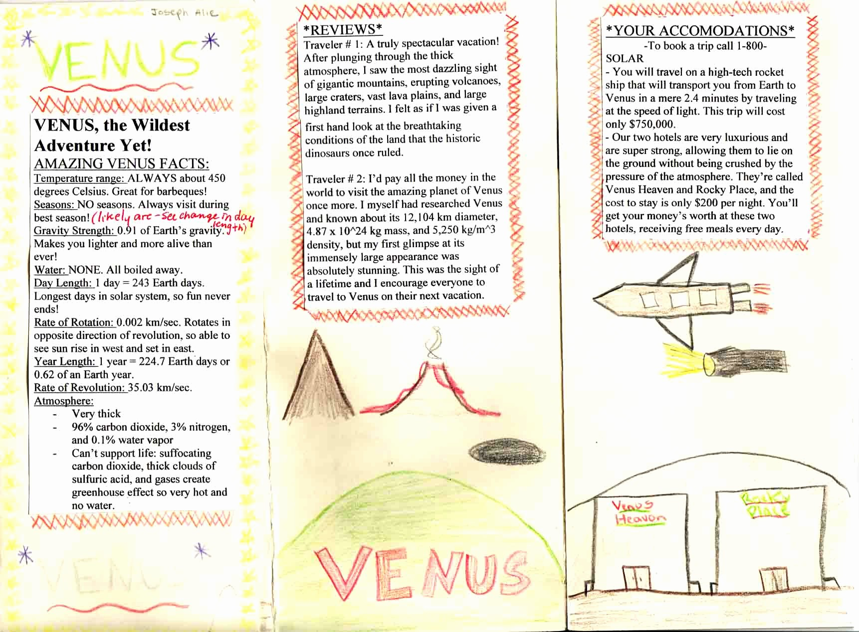 Sample Travel Brochure for Students Best Of 10 Best Of Students Creating A Brochure Biome