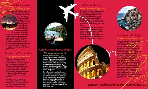 Sample Travel Brochure for Students Elegant 17 Great Travel Brochure Examples Fit for Globetrotters