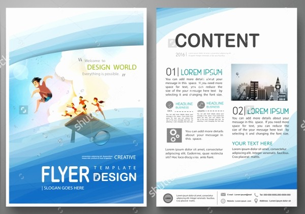Sample Travel Brochure for Students Fresh 19 Travel Brochure Free Psd Ai Vector Eps format