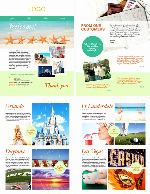 Sample Travel Brochure for Students Lovely Sample Travel Brochure Pdf