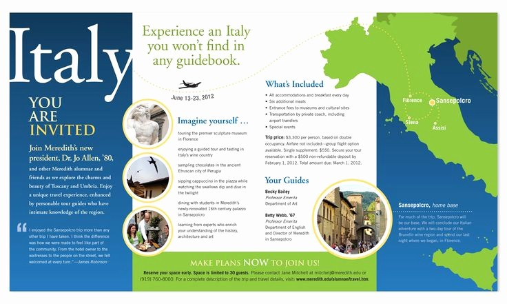 Sample Travel Brochure for Students Lovely Travel Brochure Google Search I Particularly Liked the