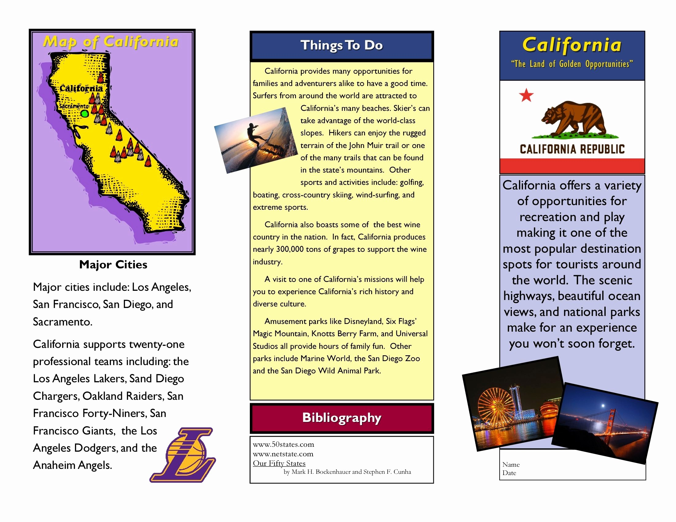 Sample Travel Brochure for Students New Travel Brochure Examples for Students