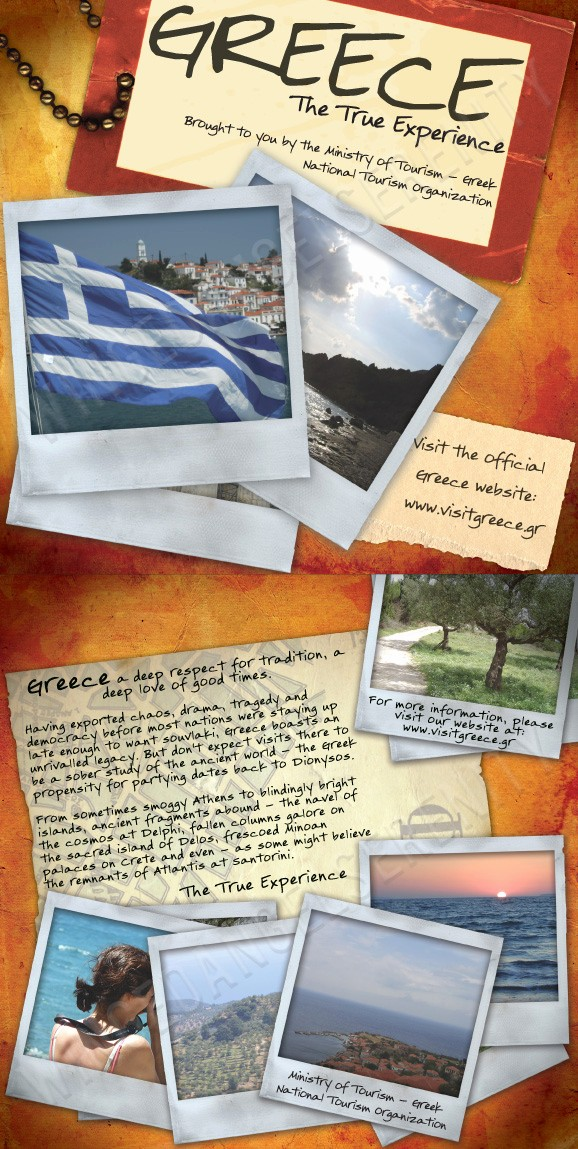 Sample Travel Brochure for Students Unique Travel Brochure Greece by Wingedangelserenity On Deviantart
