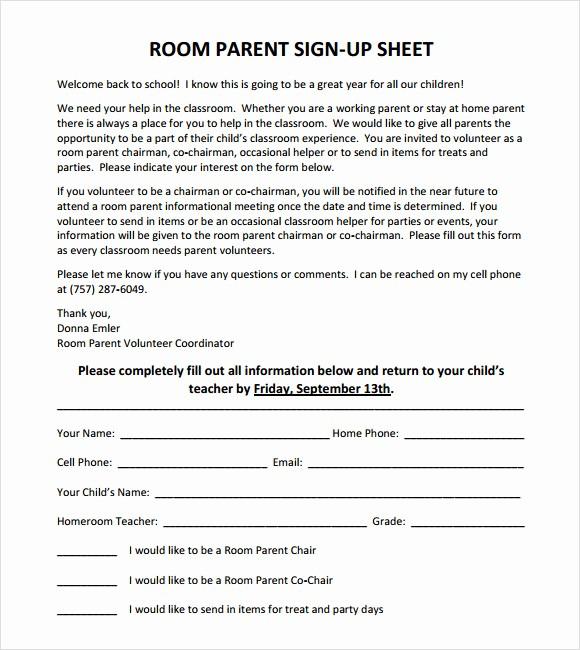 Sample Volunteer Sign Up Sheet Lovely 13 Sign Up Sheet Samples