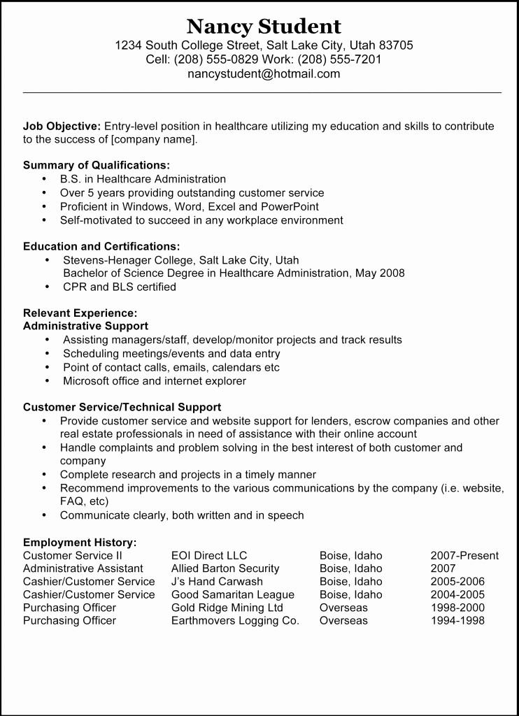 Samples Of A Basic Resume Beautiful 7 Sleek Sample Resume Templates