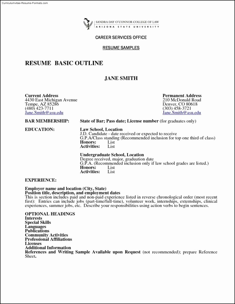 Samples Of A Basic Resume Luxury Basic Resume Template Australia Free Samples Examples