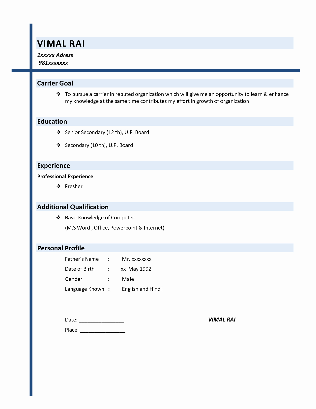 Samples Of A Basic Resume Luxury Resume Examples Basic Resume Examples Basic Resume