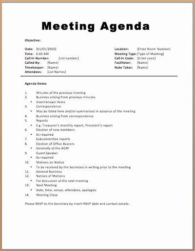 Samples Of Agenda for Meetings Elegant Best 25 Meeting Agenda Template Ideas On Pinterest