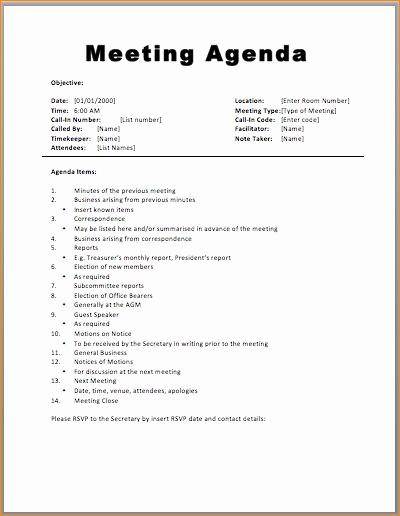 Samples Of Agenda for Meetings Elegant Best 25 Meeting Agenda Template Ideas On Pinterest