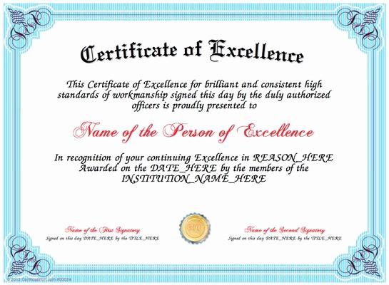 Samples Of Certificate Of Achievement Elegant Best 25 Certificate Of Achievement Template Ideas On