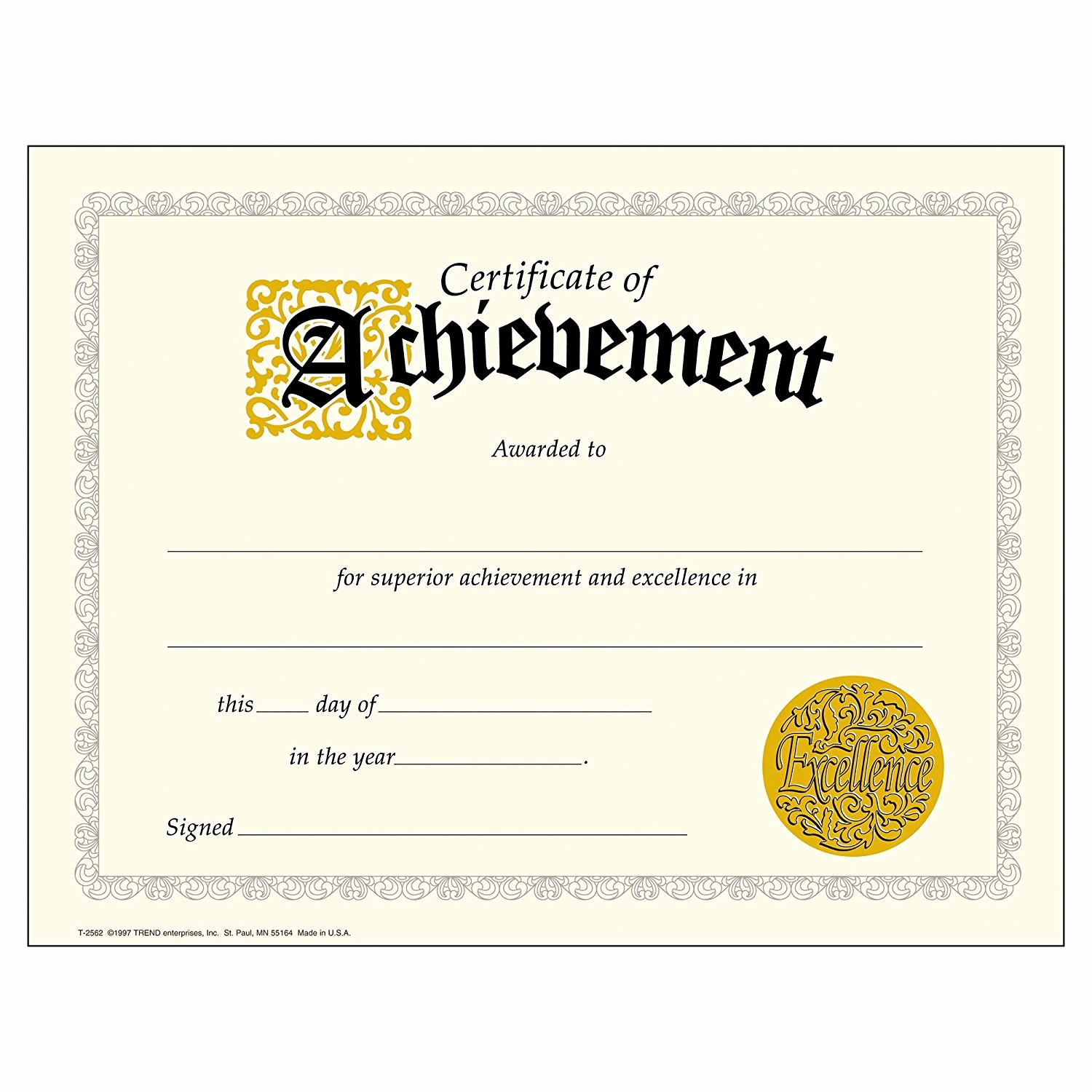 Samples Of Certificate Of Achievement Inspirational Pdf Achievement Certificates Templates Free