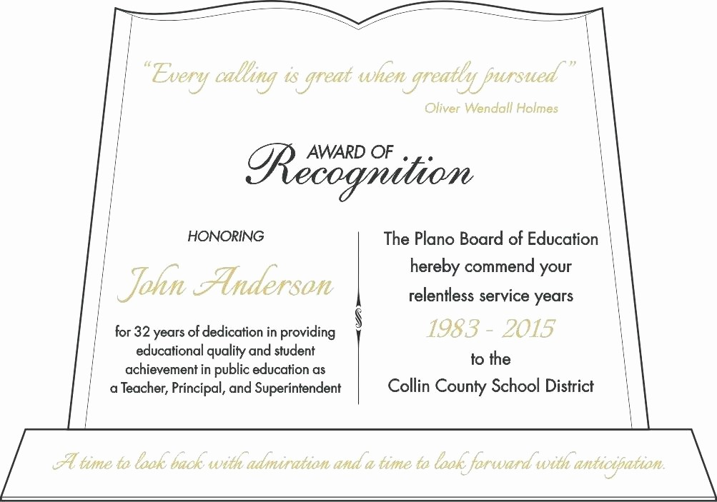 Samples Of Certificate Of Achievement Lovely Appreciation Award Wording Achievement Lifetime Sample