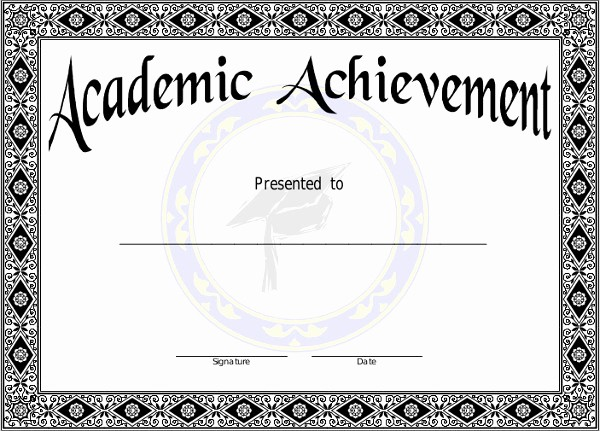 Samples Of Certificate Of Achievement Luxury 7 Achievement Certificates Examples & Samples
