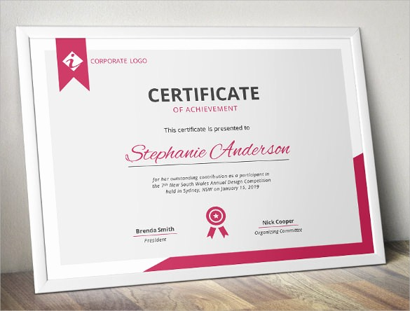 Samples Of Certificate Of Achievement New 38 Best Certificate Of Achievement Templates