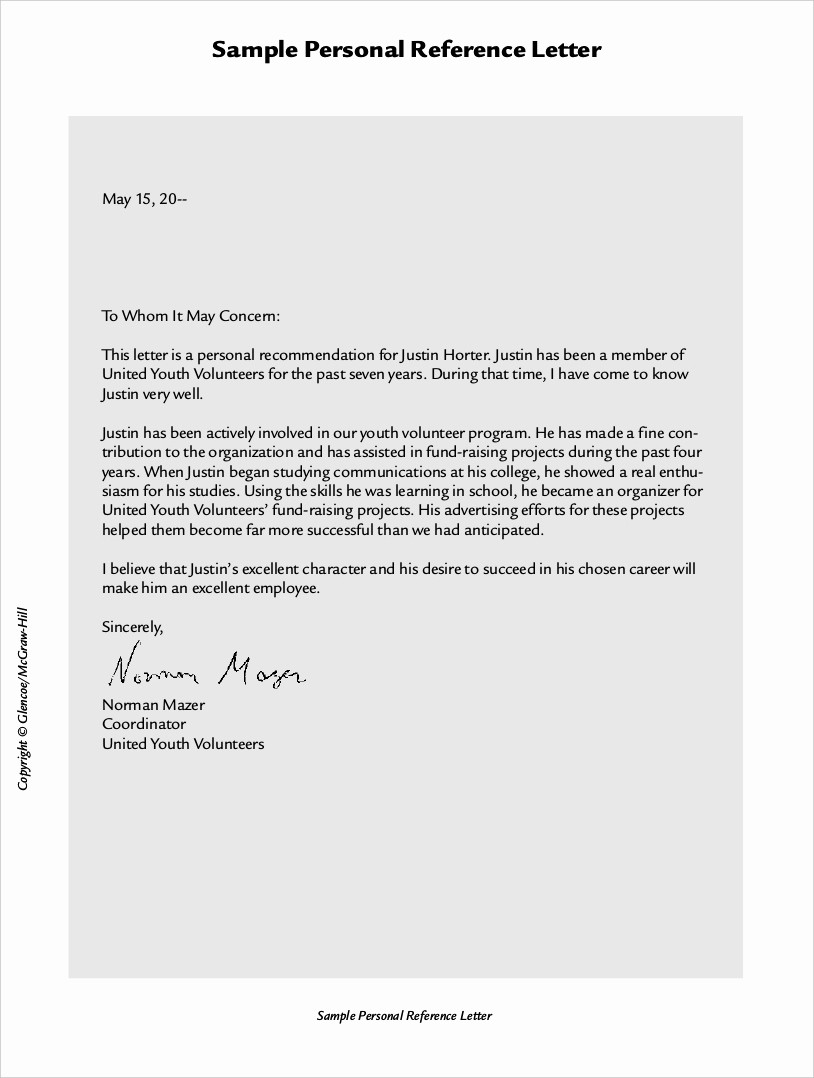 Samples Of Employee Reference Letters Lovely 9 Employee Reference Letter Examples & Samples In Pdf