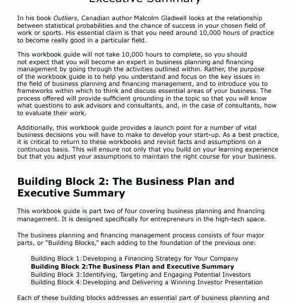 Samples Of Executive Summary Report Luxury Square Block with 4 Stages Business Plans Examples