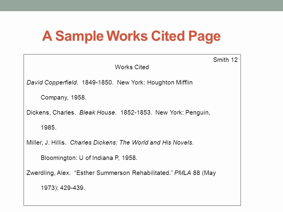 Samples Of Work Cited Pages Fresh Persuasive Research Essay Outline Ppt