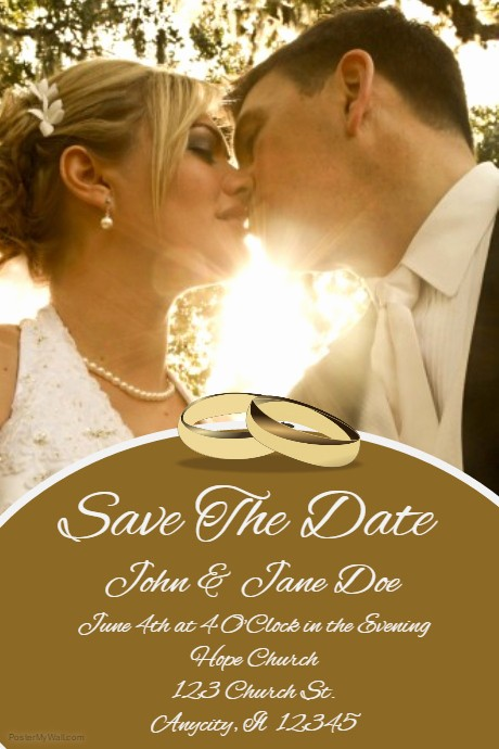 Save the Date Flyer Ideas Awesome Save the Date Party Flyer Template