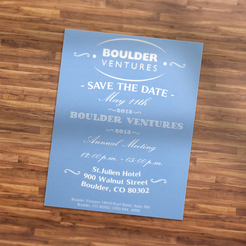 Save the Date Flyer Ideas Beautiful Design A Save the Date for Annual Meeting