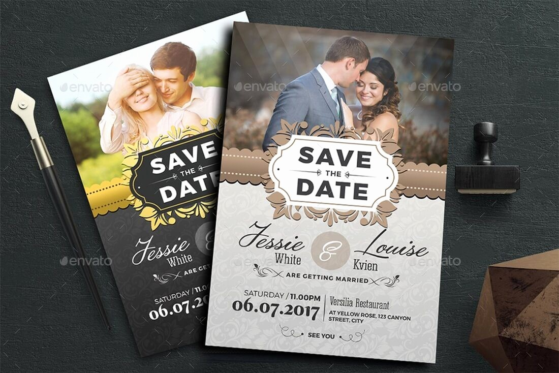 Save the Date Flyer Ideas Beautiful Save the Date Flyer Template Passport Wedding Invitation