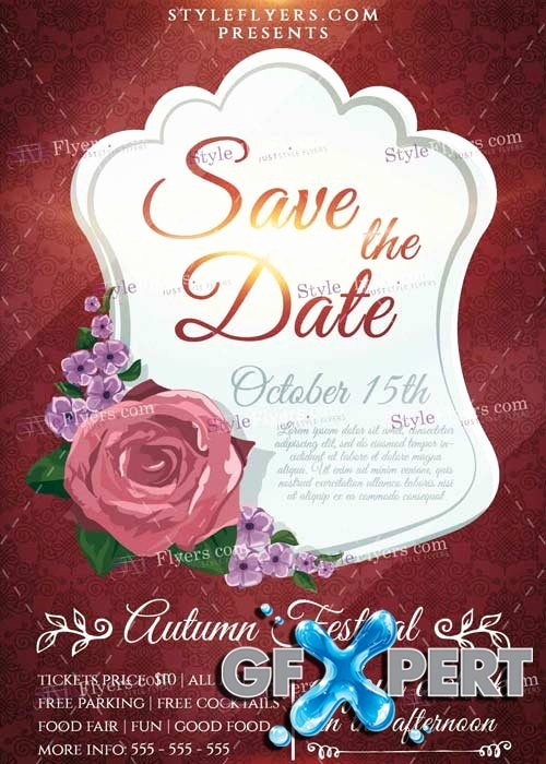 Save the Date Flyer Ideas Best Of Free Save the Date Psd V1 Flyer Template