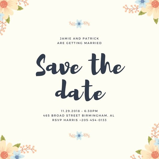 Save the Date Flyer Ideas Elegant Customize 4 982 Save the Date Invitation Templates Online