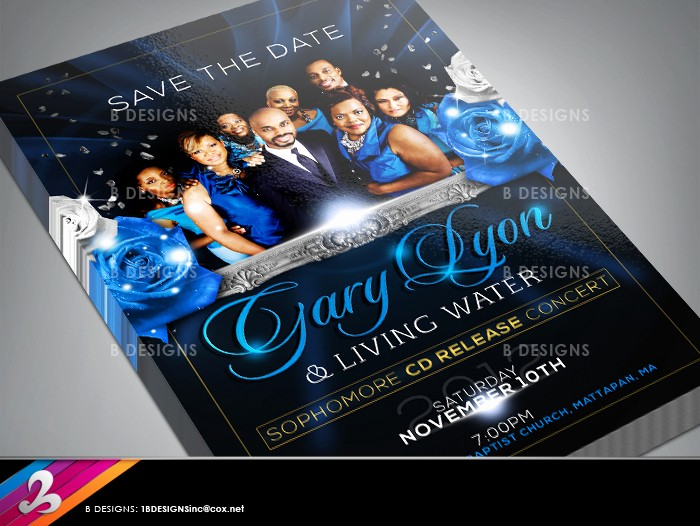 Save the Date Flyer Ideas Inspirational Save the Date Gospel Flyer by Anotherbcreation On Deviantart