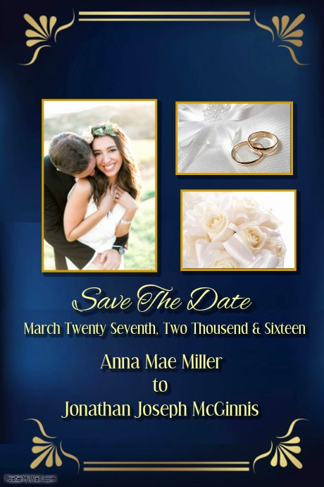 Save the Date Flyer Ideas Lovely Save the Date Template