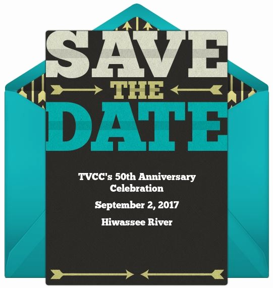 Save the Date Flyer Ideas Lovely Tvcc is Turning 50 Tvcc