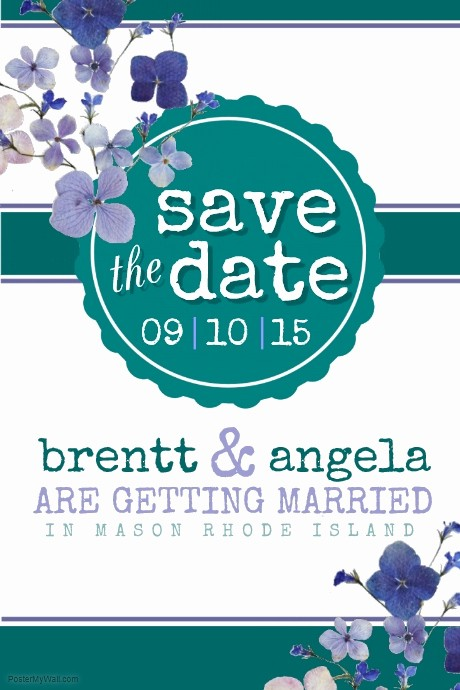 Save the Date Flyer Ideas New Save the Date Template
