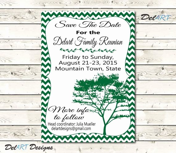 Save the Date Flyer Ideas Unique 22 Best Images About Family Reunions Save the Date On