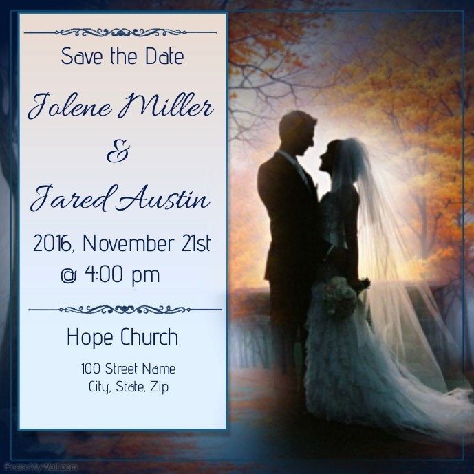 Save the Date Flyer Ideas Unique Save the Date Template