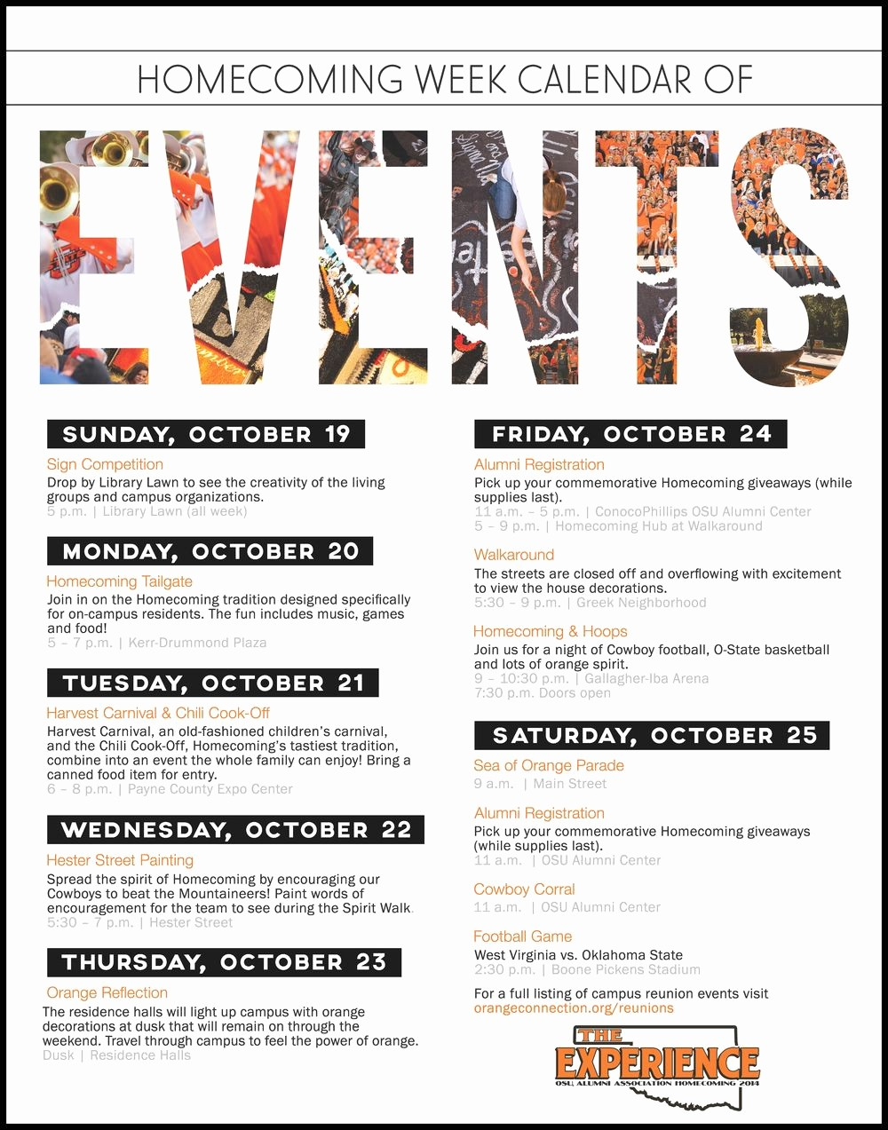 Schedule Of events Template Word Lovely Schedule Of events Flyer Google Search