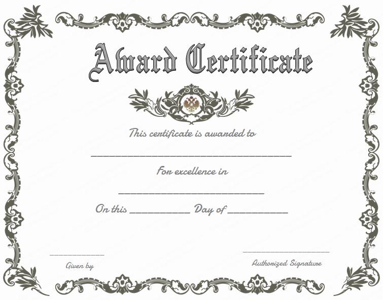 Scholarship Award Certificate Template Free Best Of Royal Award Certificate Template Get Certificate Templates
