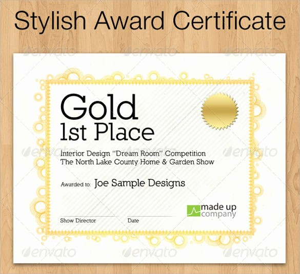 Scholarship Certificate Template for Word Luxury Award Certificate Template 29 Download In Pdf Word