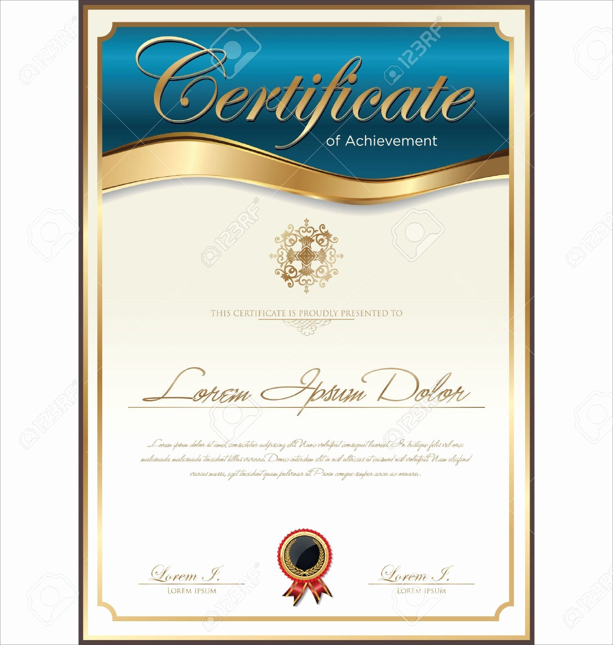 Scholarship Certificate Template for Word Luxury Award Templates Word Example Mughals