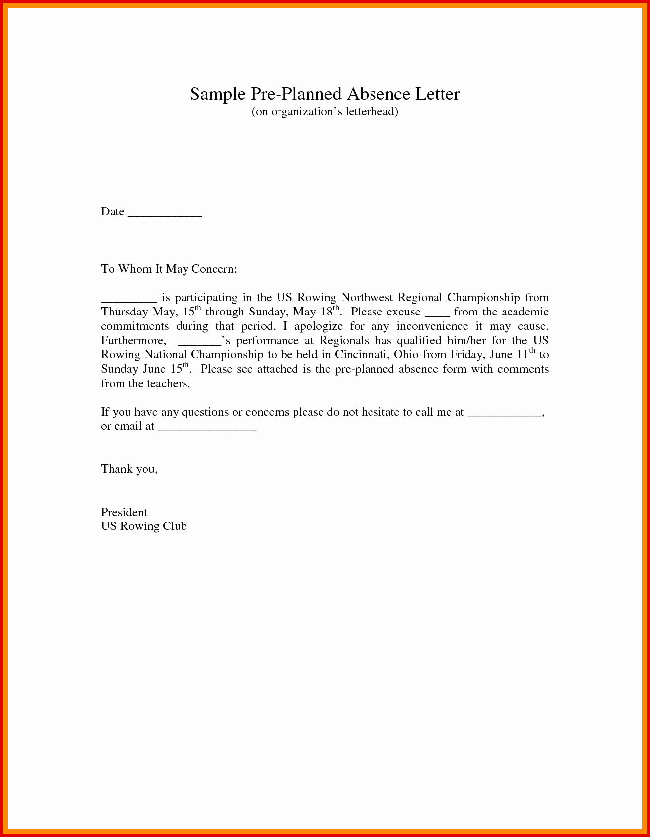 School Absence Excuse Letter Template Elegant 4 5 Excuse Letter for School for Being Sick