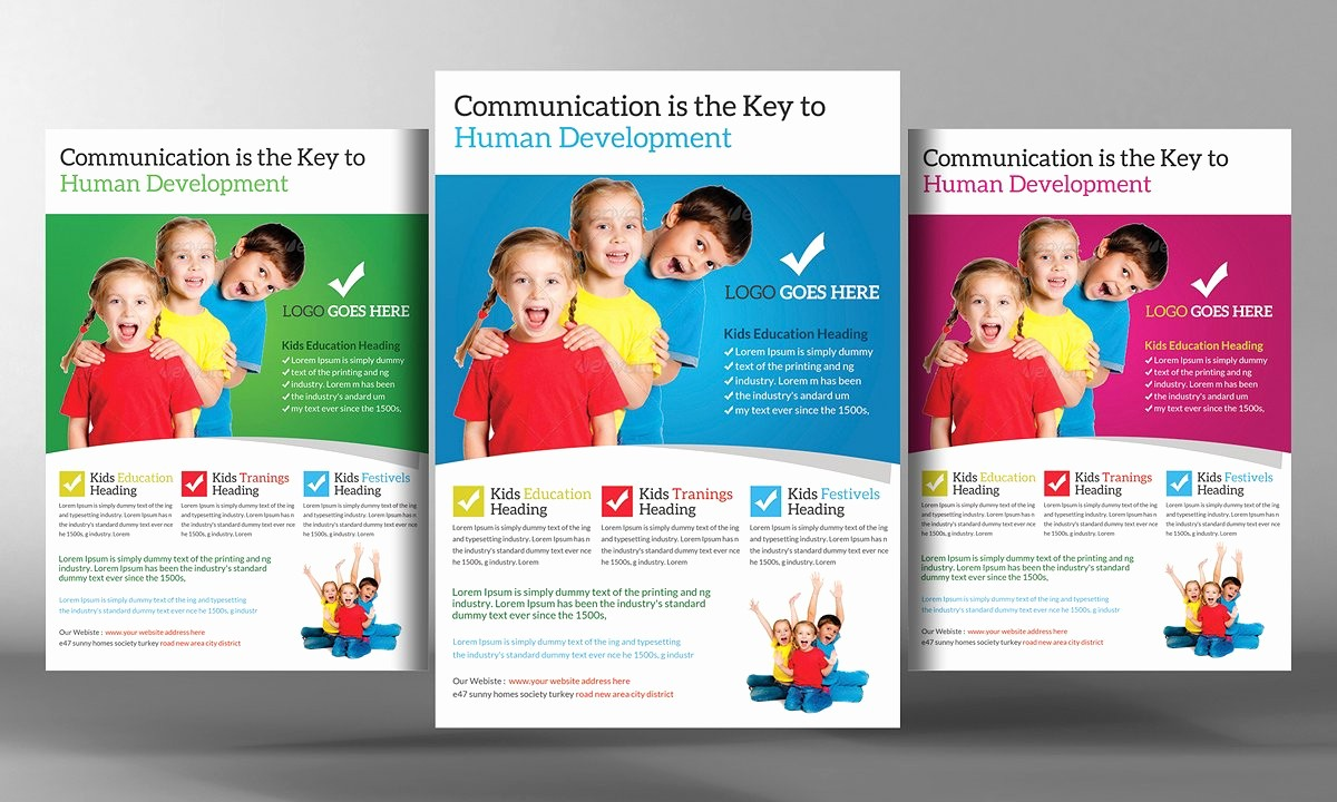 School Brochure Template Free Download Awesome Educational Flyer Templates Yourweek Aa7664eca25e