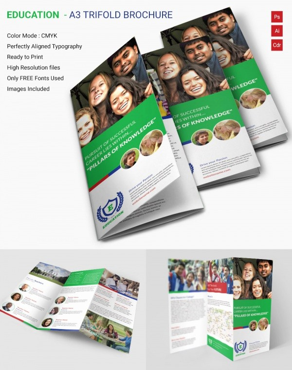 School Brochure Template Free Download Awesome School Brochure 22 Download In Psd Vector Pdf