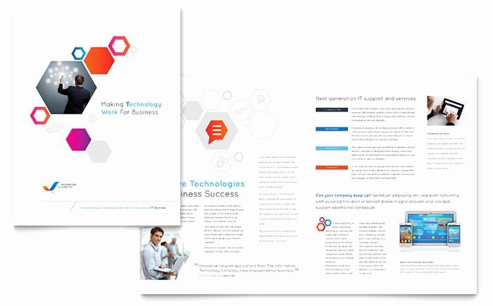 School Brochure Template Free Download Beautiful Free Brochure Templates