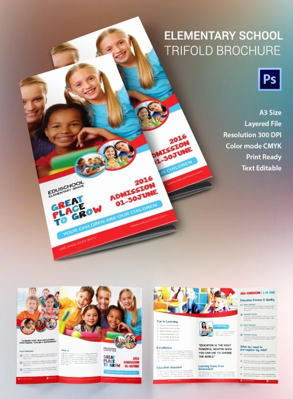 School Brochure Template Free Download Beautiful School Brochure Template Free 17 School Brochure