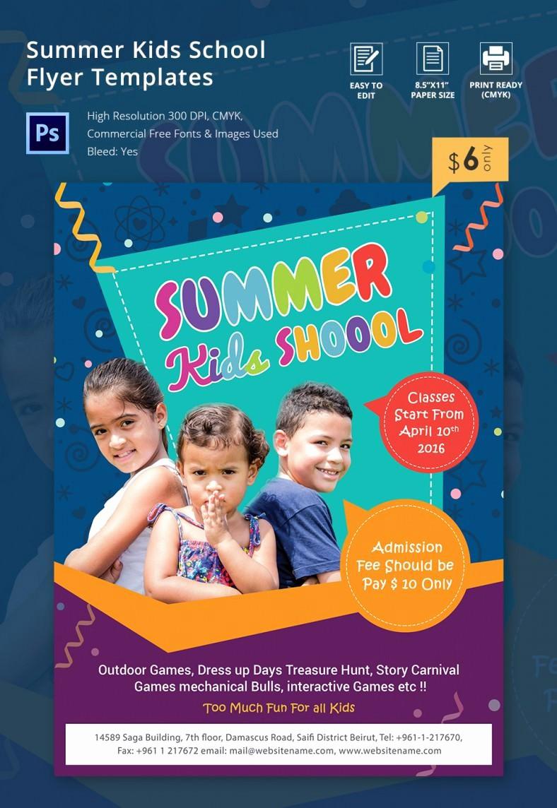 School Brochure Template Free Download Best Of School Flyer Templates Yourweek Cdc50eeca25e