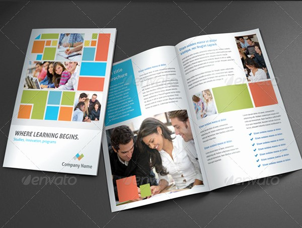 School Brochure Template Free Download Elegant College Brochure Template 45 Free Jpg Psd Indesign