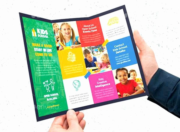 School Brochure Template Free Download Fresh Child Development School Flyer Ad Play Brochure Templates